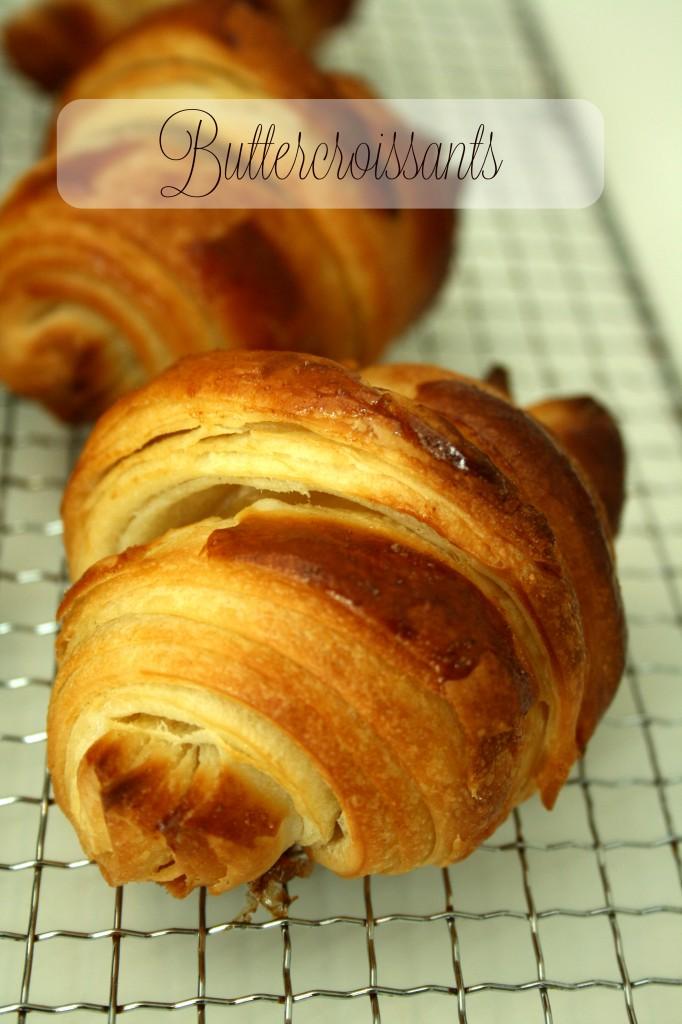 Croissants, Buttercroissants, Blätterteig