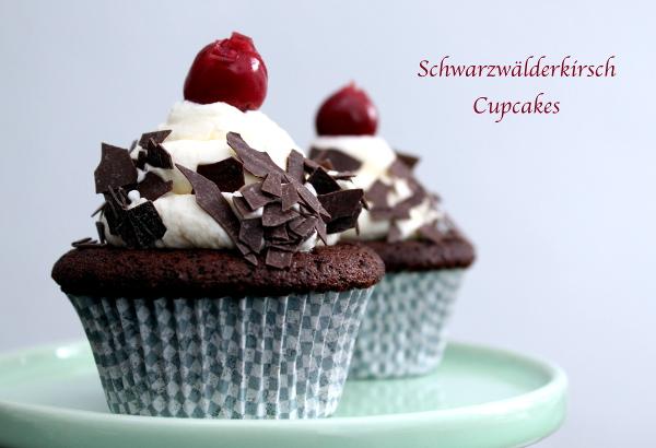 Schwarzwälderkirsch Cupcakes