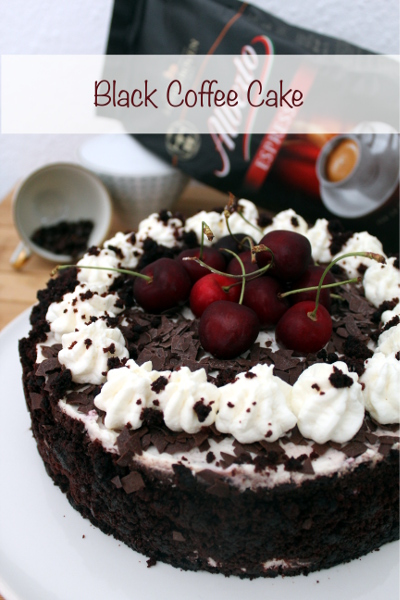 "ALBERTO Espresso sagt ""Danke Mamma"" / Black Coffee Cake"